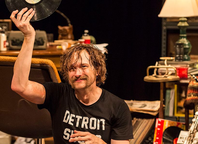 Erik Jensen as Lester Bangs in <em>How To Be A Rock Critic</em>