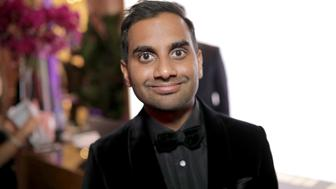 BEVERLY HILLS, CA - JANUARY 07:  Actor/producer Aziz Ansari attends the Official Viewing and After Party of The Golden Globe Awards bosted by The Hollywood Foreign Press Association on January 7, 2018 in Beverly Hills, California.  (Photo by Greg Doherty/Getty Images)