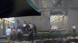 Κατέρρευσε όροφος του χρηματιστηρίου στην Τζακάρτα. Πάνω από εβδομήντα οι