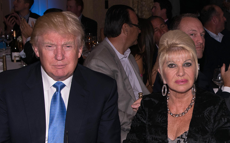 Ivana Trump Says Donald's Not Racist, Just