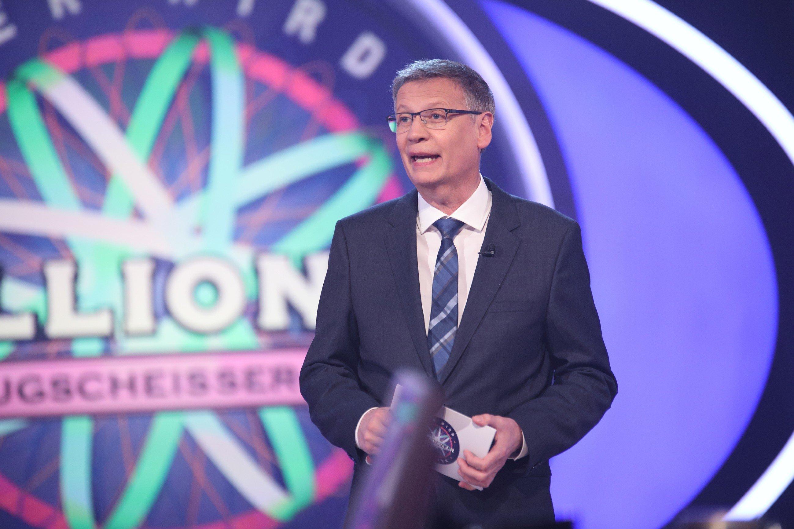 Viele würden ihn gerne einmal live sehen: Moderator Günther Jauch.