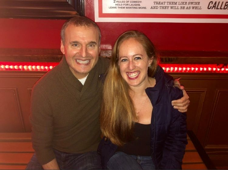 Phil Rosenthal and Stacy Slotnick at The PIT.