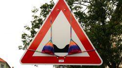 NetzDG: Facebook löscht Bilder der Streetart-Künstlerin