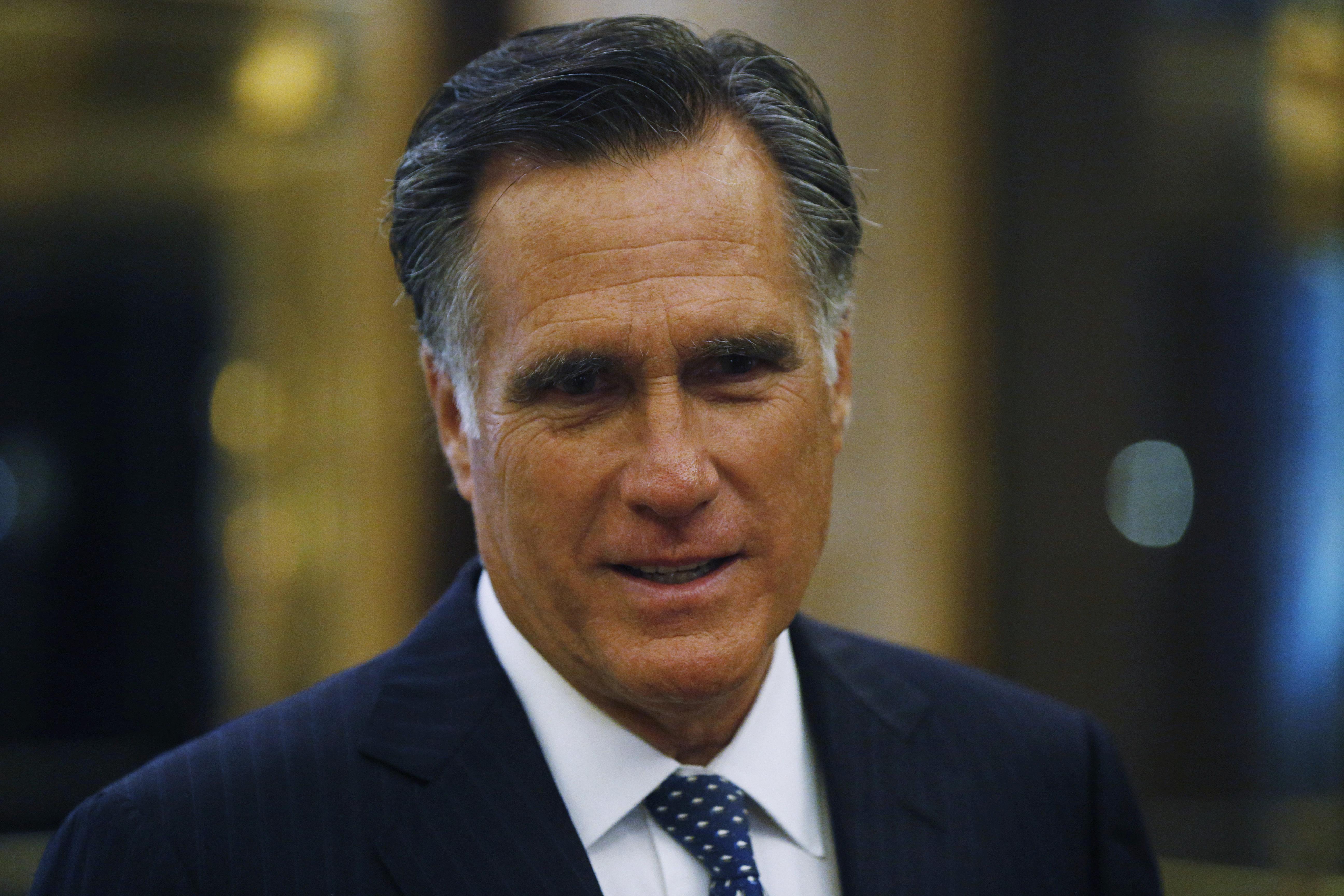 Romney Told Utah Friend 'I'm Running' For Senate