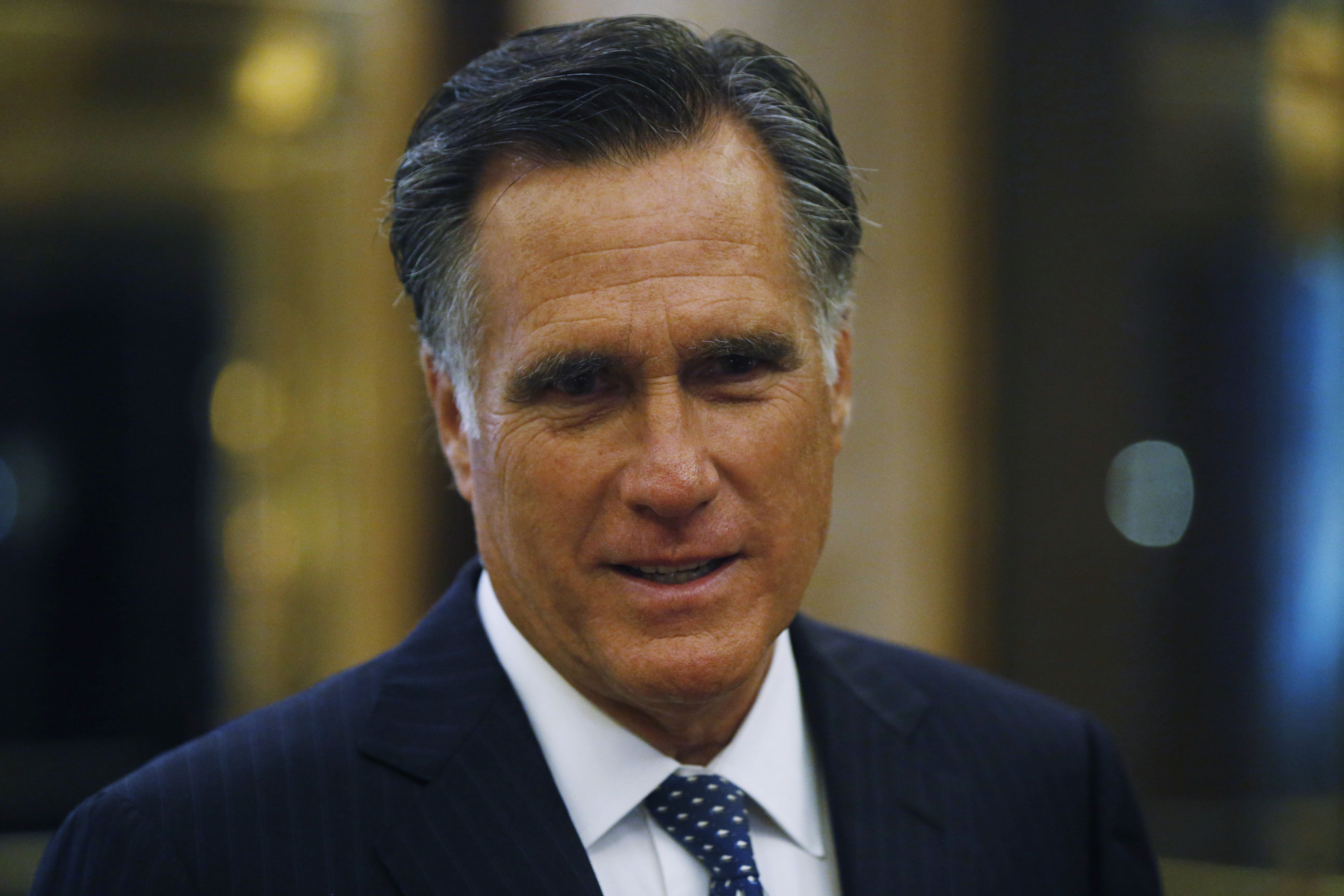 Former Massachusetts Gov. Mitt Romney (R) has said President Donald Trump's reported comments about Haitians and African