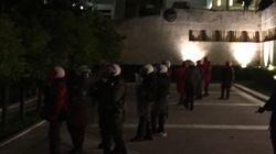 Ένταση στα συλλαλητήρια κατά του πολυνομοσχεδίου στο