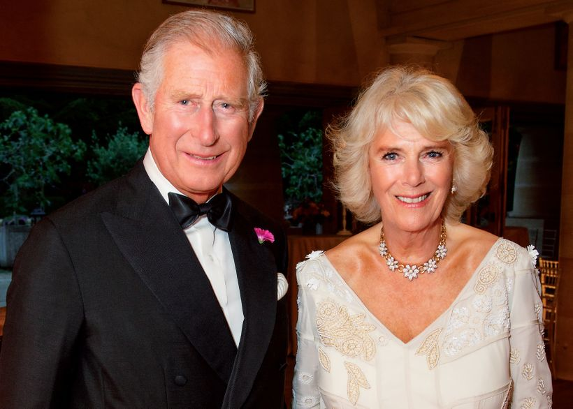 History repeating. HRH Prince Charles (L) is the great grandson of King Edward VII and HRH Duchess of Cornwall (R) is the gr