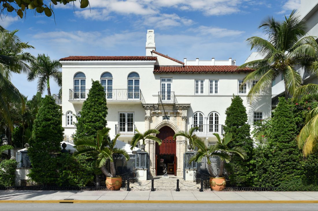 Gianni Versace's mansion is now a boutique