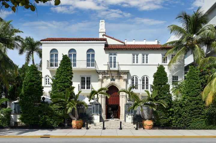 Gianni Versace's mansion is now a boutique hotel.