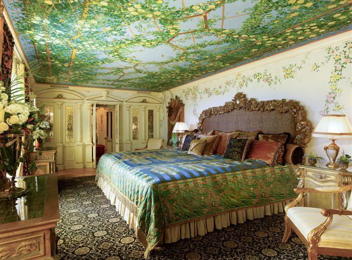 The Venus suite, Donatella Versace's preferred suite.