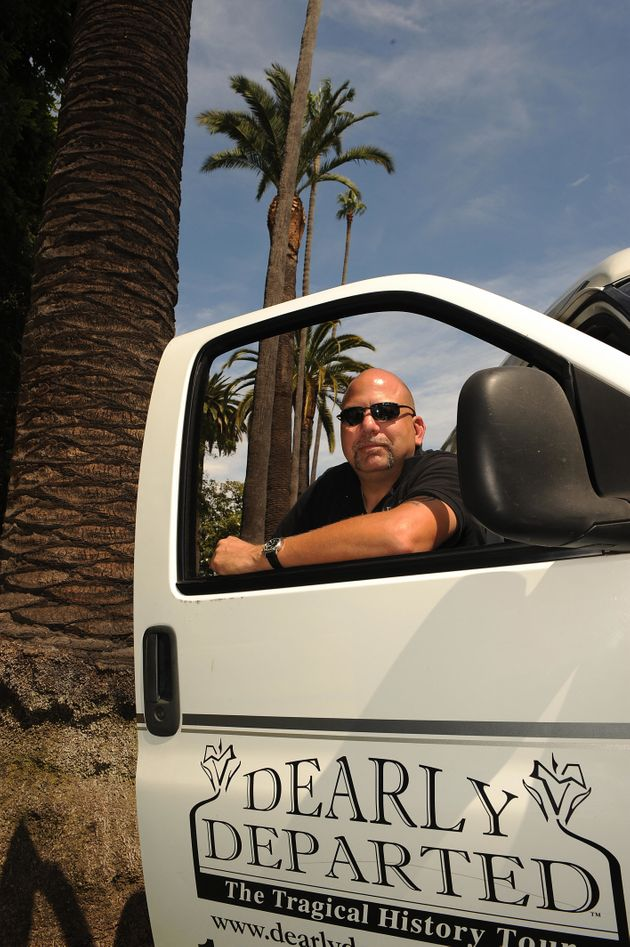 Scott Michaels is the owner of Dearly Departed Tours, a company that gives tours focused on famous deaths...