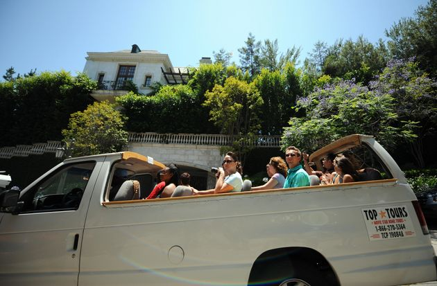 Celebrity-focused tours in Los Angelesoften drive past Michael Jackson'shome, where he