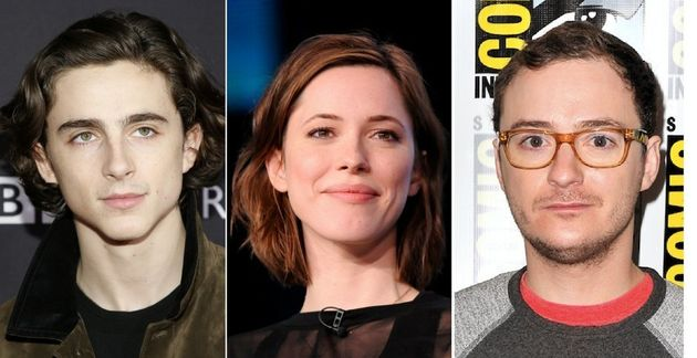 Actors Timothée Chalamet (left), Rebecca Hall (center) and Griffin Newman (right) have all expressed...