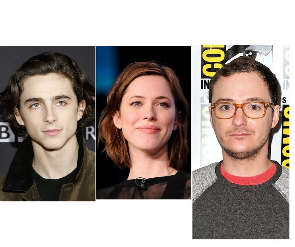 Actors Timothée Chalamet (left), Rebecca Hall (center) and Griffin Newman (right) have all expressed regret over worki
