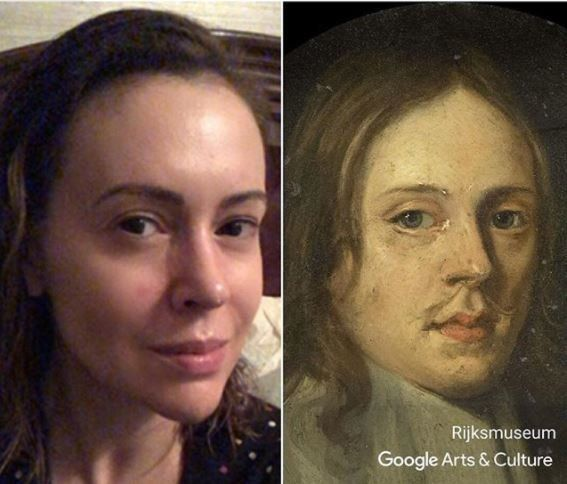 Πώς θα σας φαινόταν αν μπορούσατε να ταιριάξετε τη selfie σας με πορτρέτα διάσημων