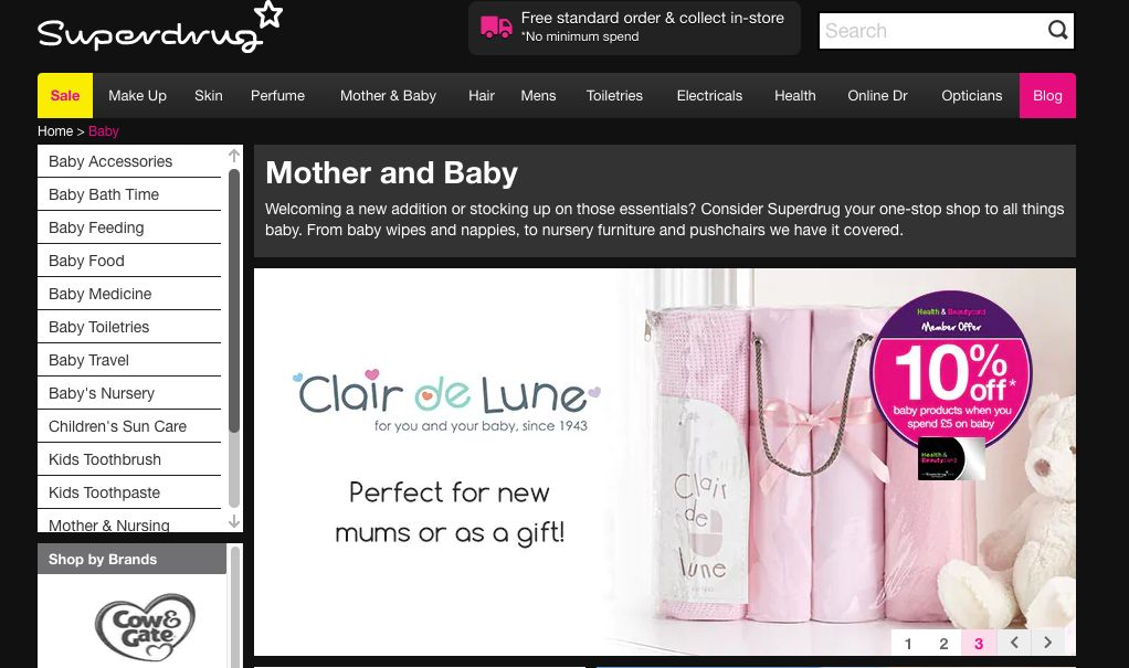 Superdrug To Revamp 'Mother And Baby' Section After Dad Calls It 'Derogatory Towards