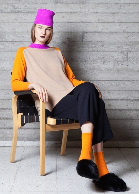 Ethically sourced cashmere at