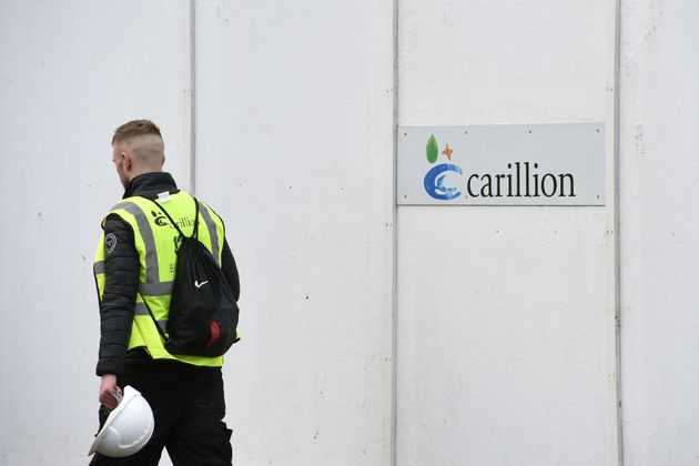 Carillion workers at Midland Metropolitan Hospital in Smethwick were reportedly sent home on