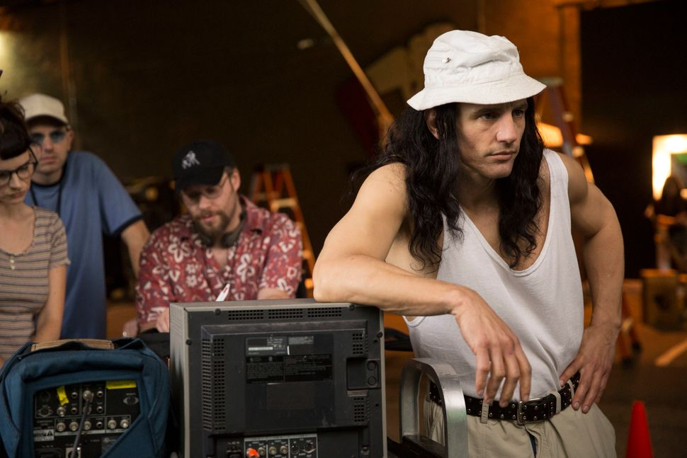 "James Franco in ""The Disaster Artist."""
