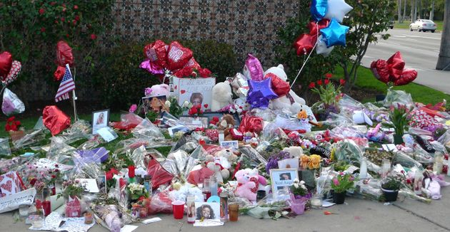 Fans paid tribute to Whitney Houstonoutside the Beverly Hilton, and somewentsearching...