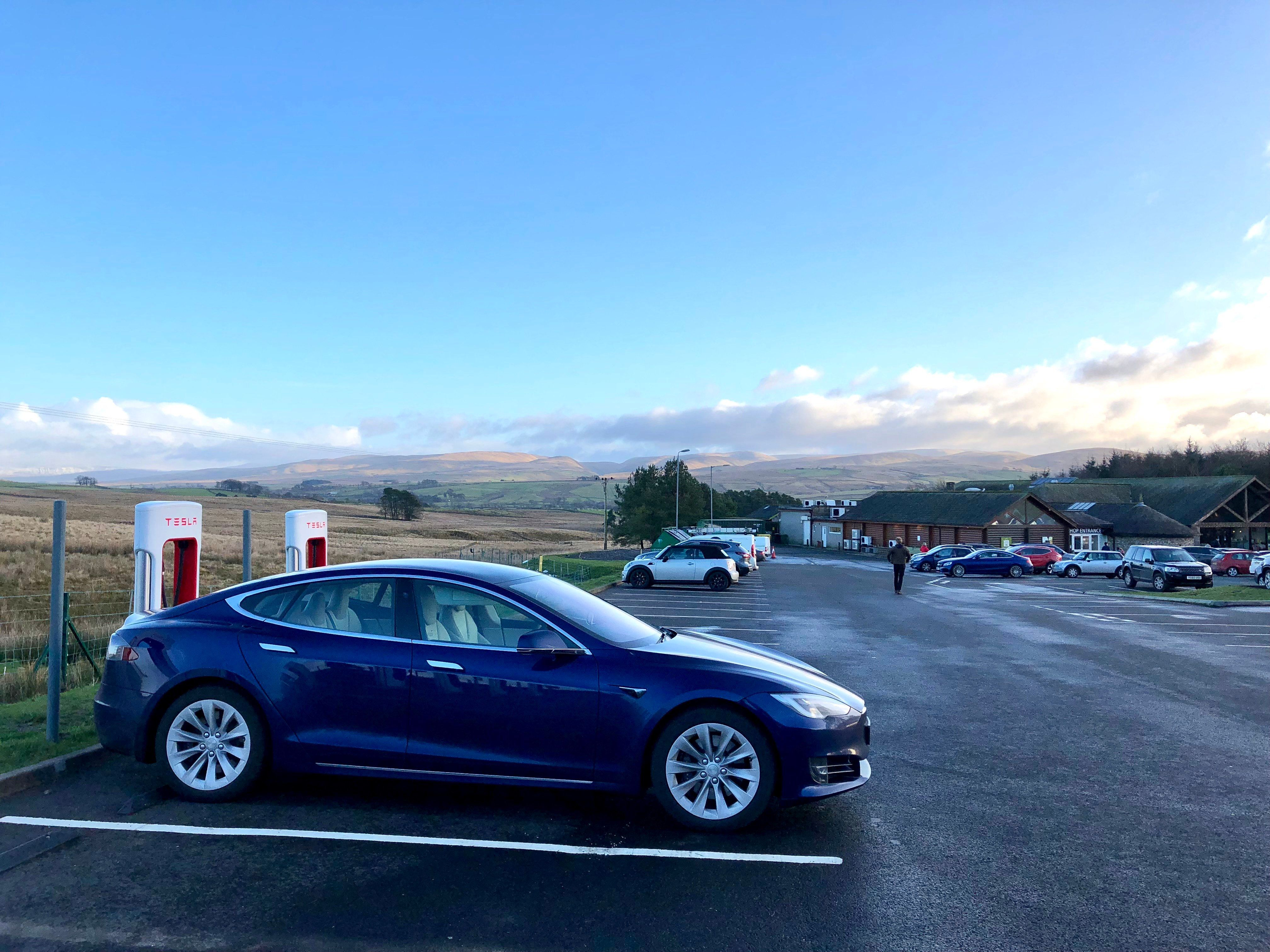 Tesla Model S: We Let An Electric Car Drive Itself 800 Miles, It Was