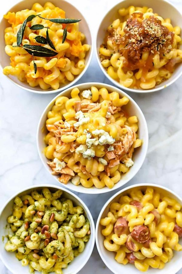 "<strong>Get the <a href=""https://www.foodiecrush.com/instant-pot-macaroni-and-cheese-five-ways/"" target=""_blank"">Instant Pot"