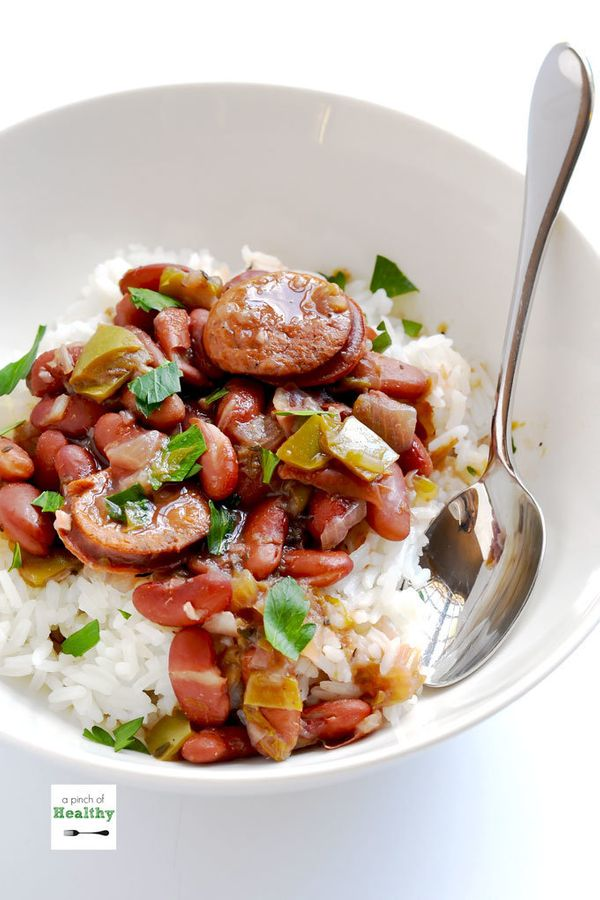 "<strong>Get the <a href=""https://www.apinchofhealthy.com/instant-pot-red-beans-and-rice/"" target=""_blank"">Instant Pot Re"