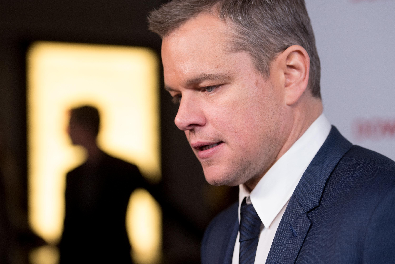 Matt Damon por fin habla con propiedad sobre el acoso