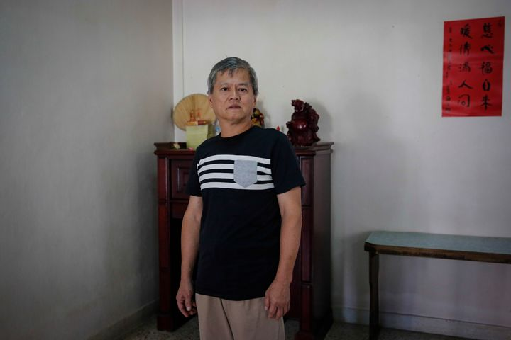 Oo Boon Siew, 58, at his home in Penang, Malaysia.
