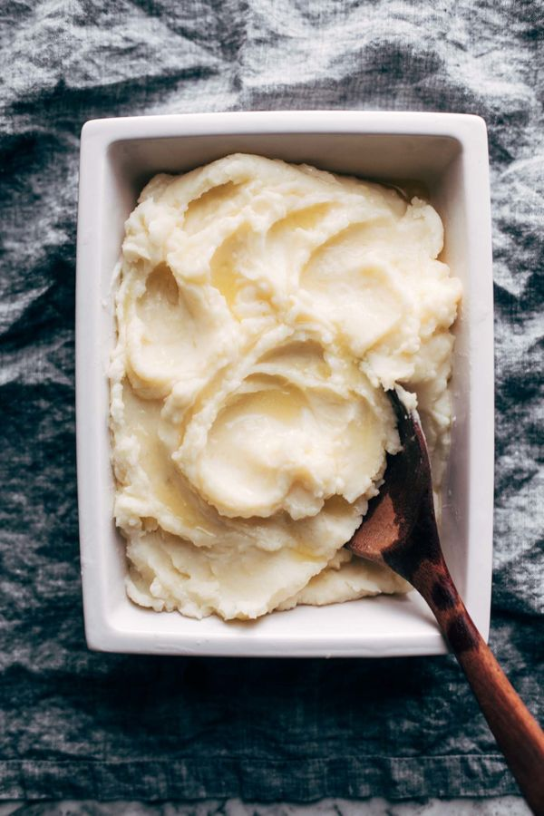 "<strong>Get the <a href=""https://pinchofyum.com/instant-pot-mashed-potatoes"" target=""_blank"">Instant Pot Mashed Potatoes reci"