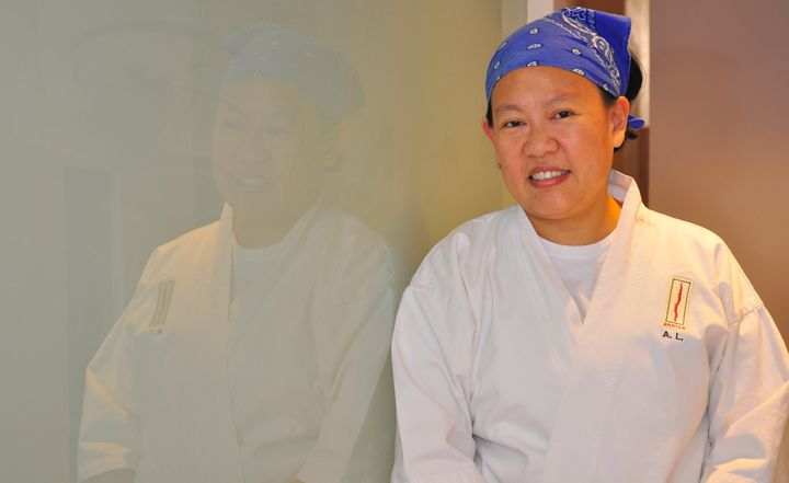 Chef Anita Lo has had to push against binary gender stereotypes in her life and in her job.