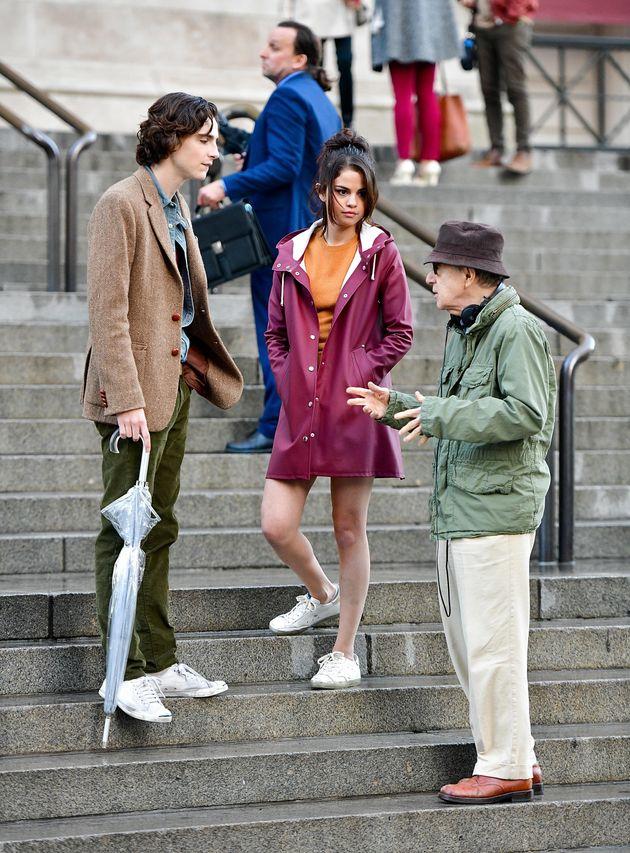 Timothée Chalamet, Selena Gomez and Woody Allen on