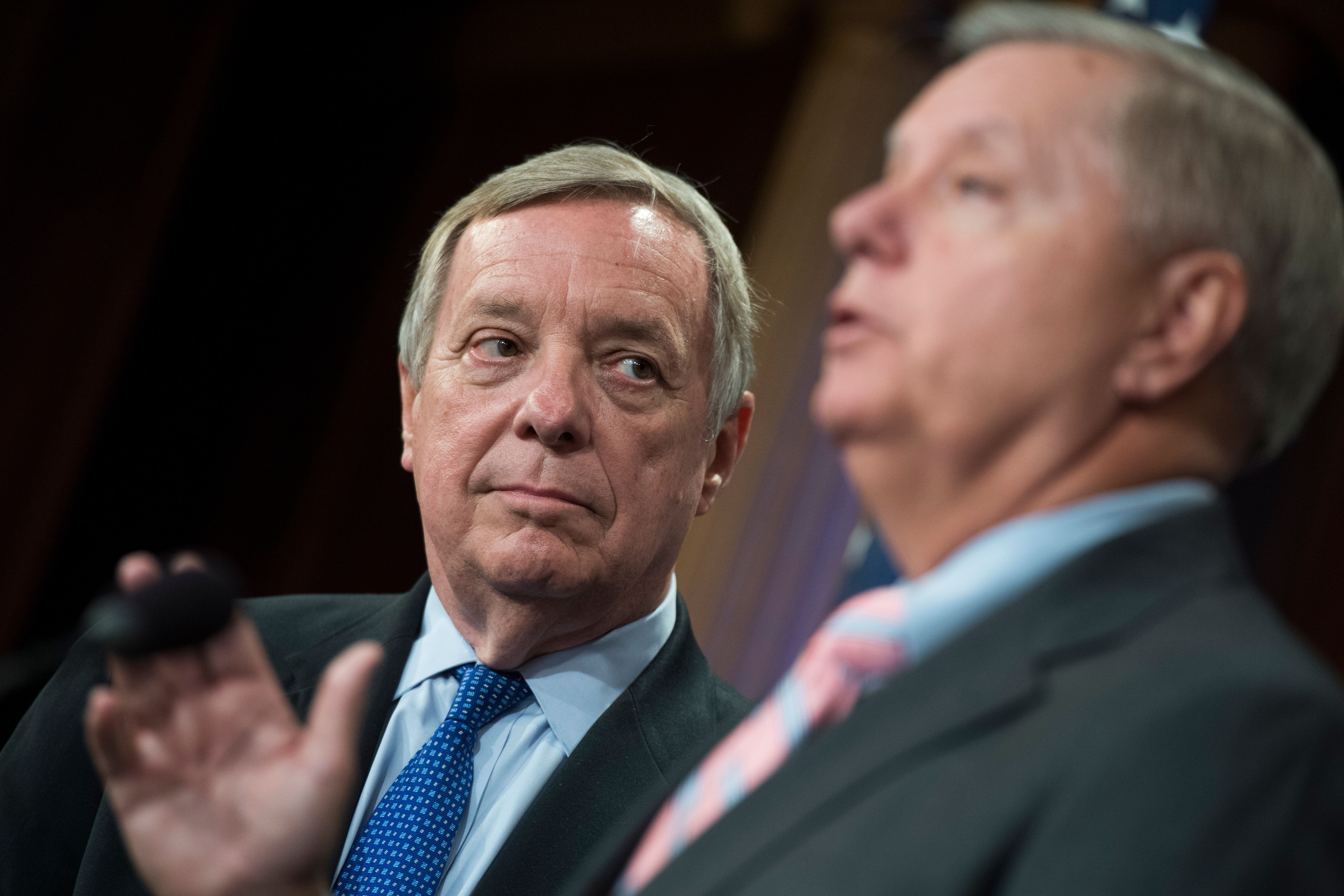 Sens. Dick Durbin and Lindsey Graham are part of a bipartisan group working to protect undocumented immigrants who came to th