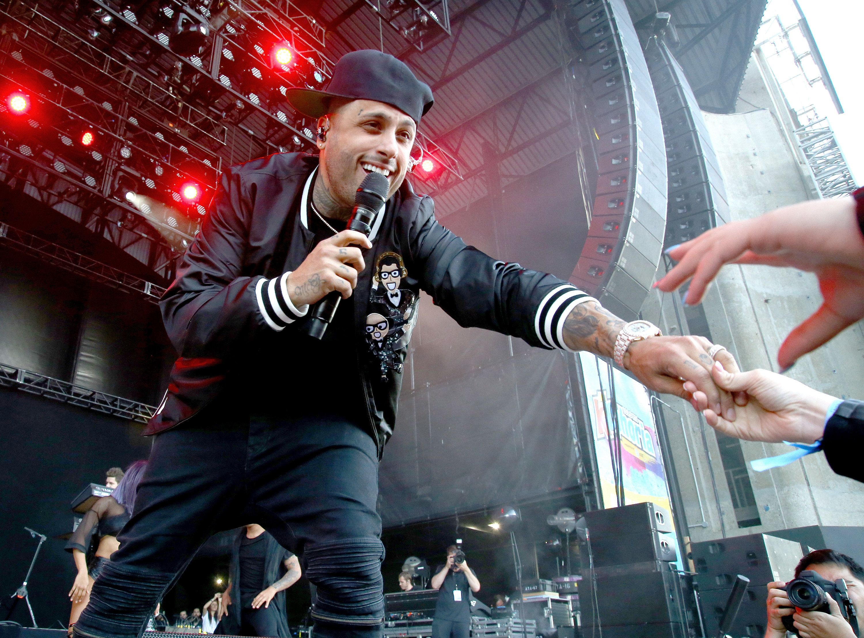 Nicky Jam performs onstage at KTUphoria 2017.