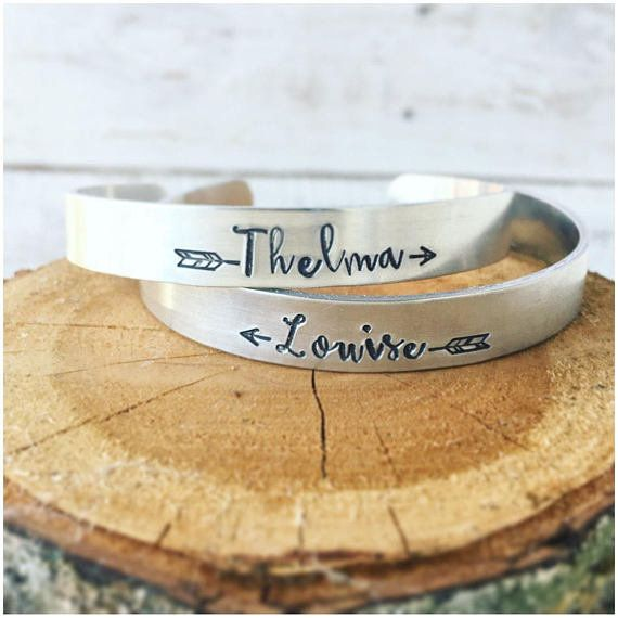 """Get them <a href=""""https://www.etsy.com/listing/289216501/thelma-and-louise-best-friend-bracelets?ga_order=most_relevant&g"""