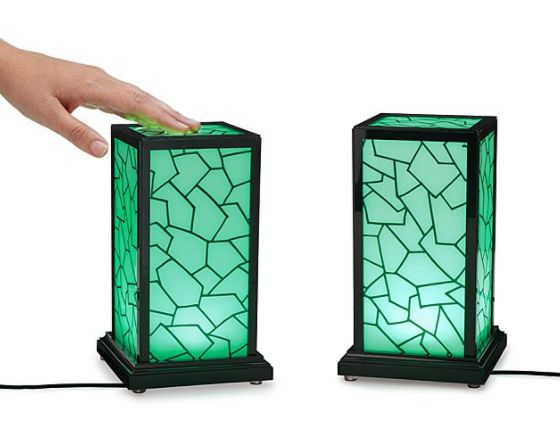 """Get it <a href=""""https://www.uncommongoods.com/product/long-distance-touch-lamp"""" target=""""_blank"""">here</a>."""