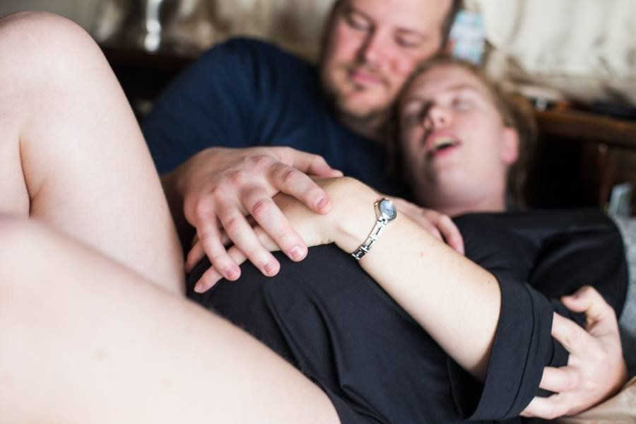 Bizarrely Beautiful Photos Show Woman 'Giving Birth' To New