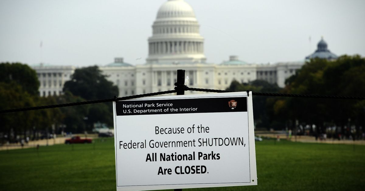 A Government Shutdown Is Looming. Here's What That Would Actually Mean.