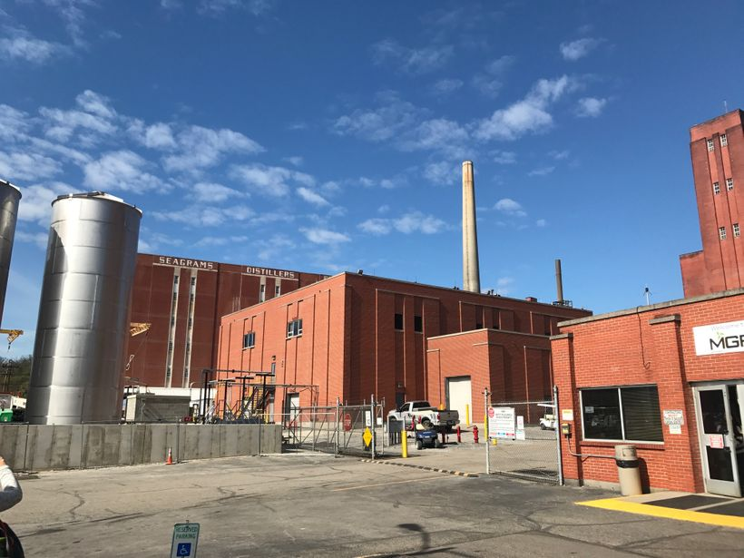 The MGP distillery in Lawrenceburg, Indiana.