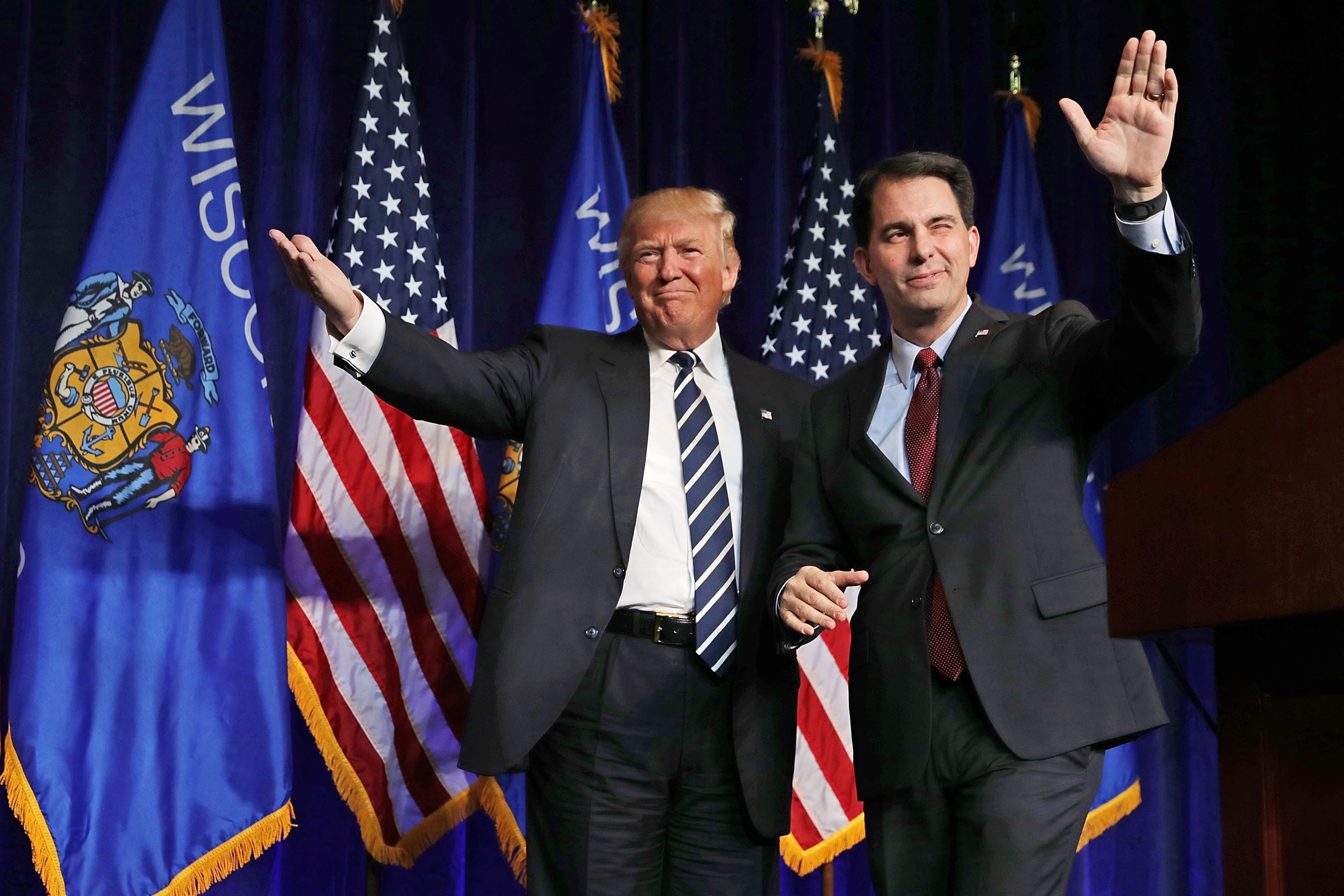 The Trump Effect Helps Democrats Pull Off a Surprise Win in Wisconsin