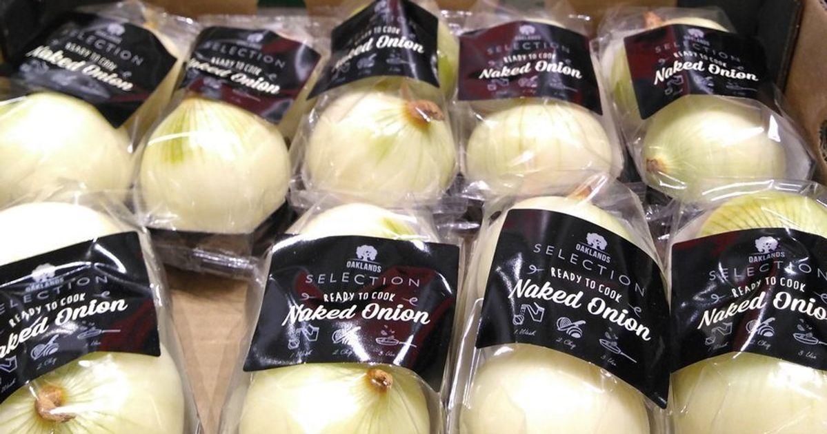 Lidl verkauft geschälte Zwiebeln, dafür in Plastik verpackt