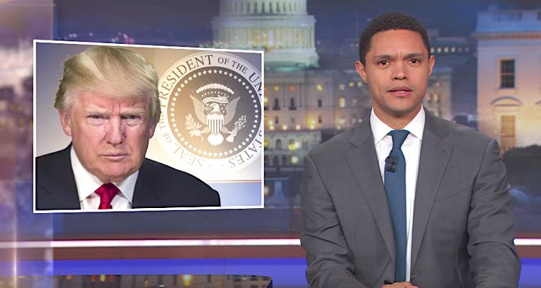 Trevor Noah Has 1 Serious Question For Trump's Doctor