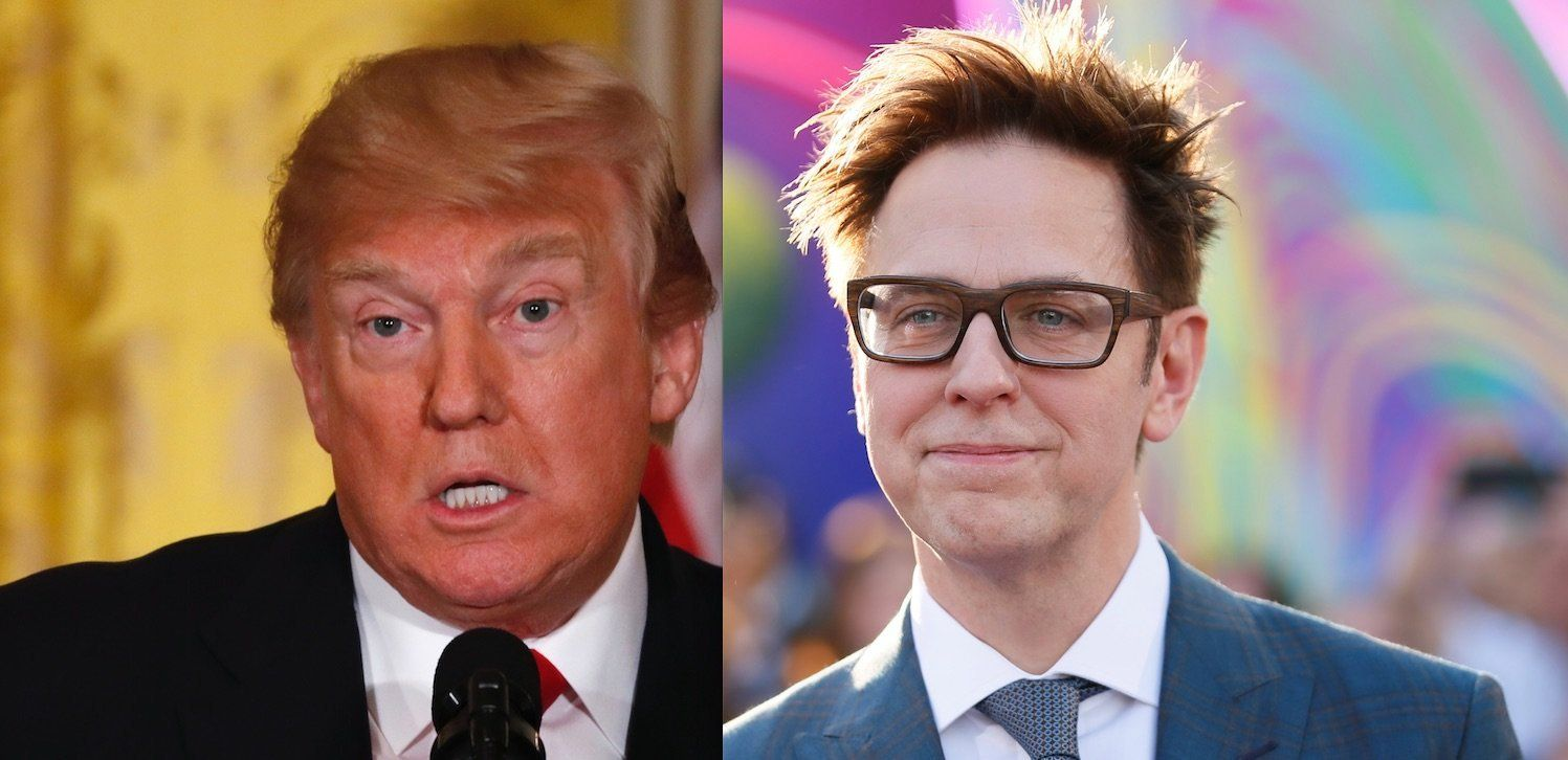 Donald Trump James Gunn