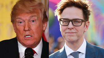 Donald Trump James Gunn