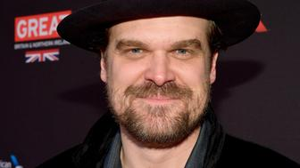 LOS ANGELES, CA - JANUARY 06:  David Harbour attends The BAFTA Los Angeles Tea Party at Four Seasons Hotel Los Angeles at Beverly Hills on January 6, 2018 in Los Angeles, California.  (Photo by Matt Winkelmeyer/BAFTA LA/Getty Images for BAFTA LA)