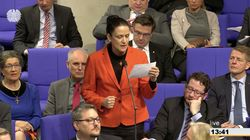 """""""Schauen Sie mich an"""": AfD-Frau pöbelt im Bundestag gegen Familienministerin Barley"""