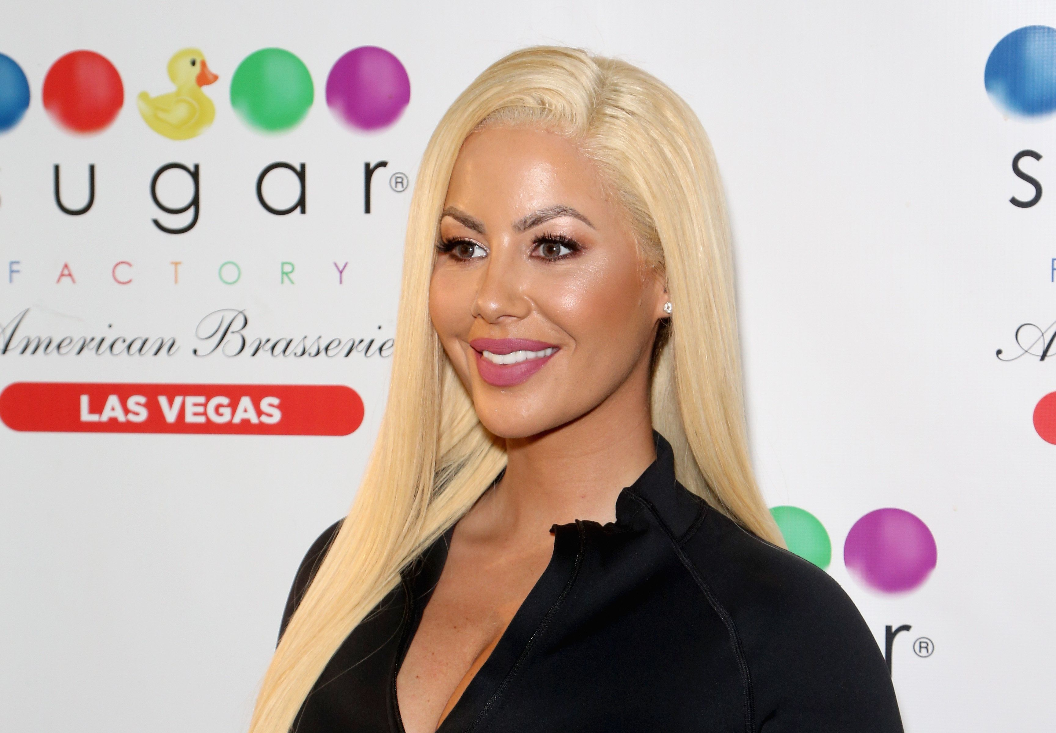 LAS VEGAS, NV - DECEMBER 02:  Model/actress Amber Rose hosts auditions for the 'Chocolate Rose' weekly program in the Chocolate Lounge at Sugar Factory American Brasserie at the Fashion Show mall on December 2, 2017 in Las Vegas, Nevada.  (Photo by Gabe Ginsberg/Getty Images)