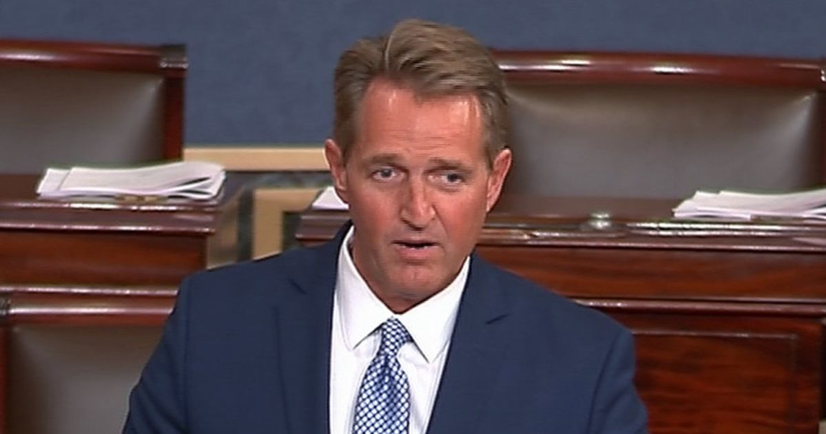 Jeff Flake Urges GOP To Stand Up To Trump's Attacks Against The Press