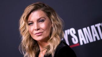 Actress Ellen Pompeo attends the 300th 'Grey's Anatomy' Episode Celebration on November 4, 2017, in Hollywood, California. / AFP PHOTO / VALERIE MACON        (Photo credit should read VALERIE MACON/AFP/Getty Images)