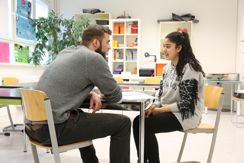 An der Quinoa-Schule arbeiten Lehrer und Schüler eng